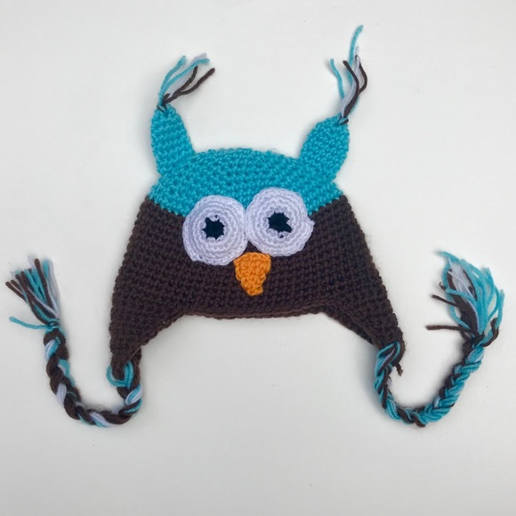 accessories knit owl baby hat nwot poshmark